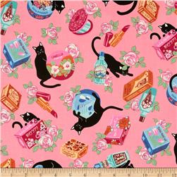 Cosmo Black Cat II Pampered Cats Pink