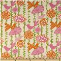 Premier Prints Menagerie Gumdrop/Natural