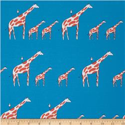 Zaza Zoo Giraffe Stripe Blue