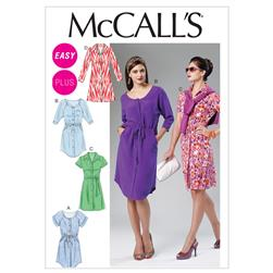 McCall's Misses'/Women's Dresses and Belt Pattern M6520 Size B50