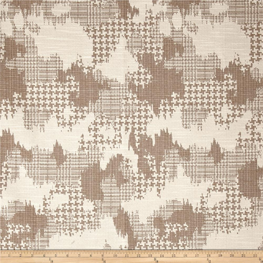 Robert Allen @ Home Plaid World Basketweave Jacquard Linen