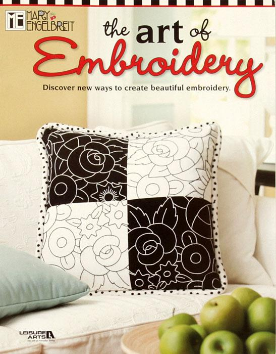 Leisure Arts Mary Engelbreit ''The Art of Embroidery'' Book