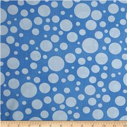 "110"" Wide Quilt Back Bubbles Sky"