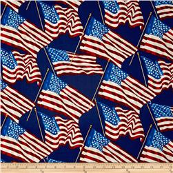 Patriotic 2017 Stars and Stripes Blue