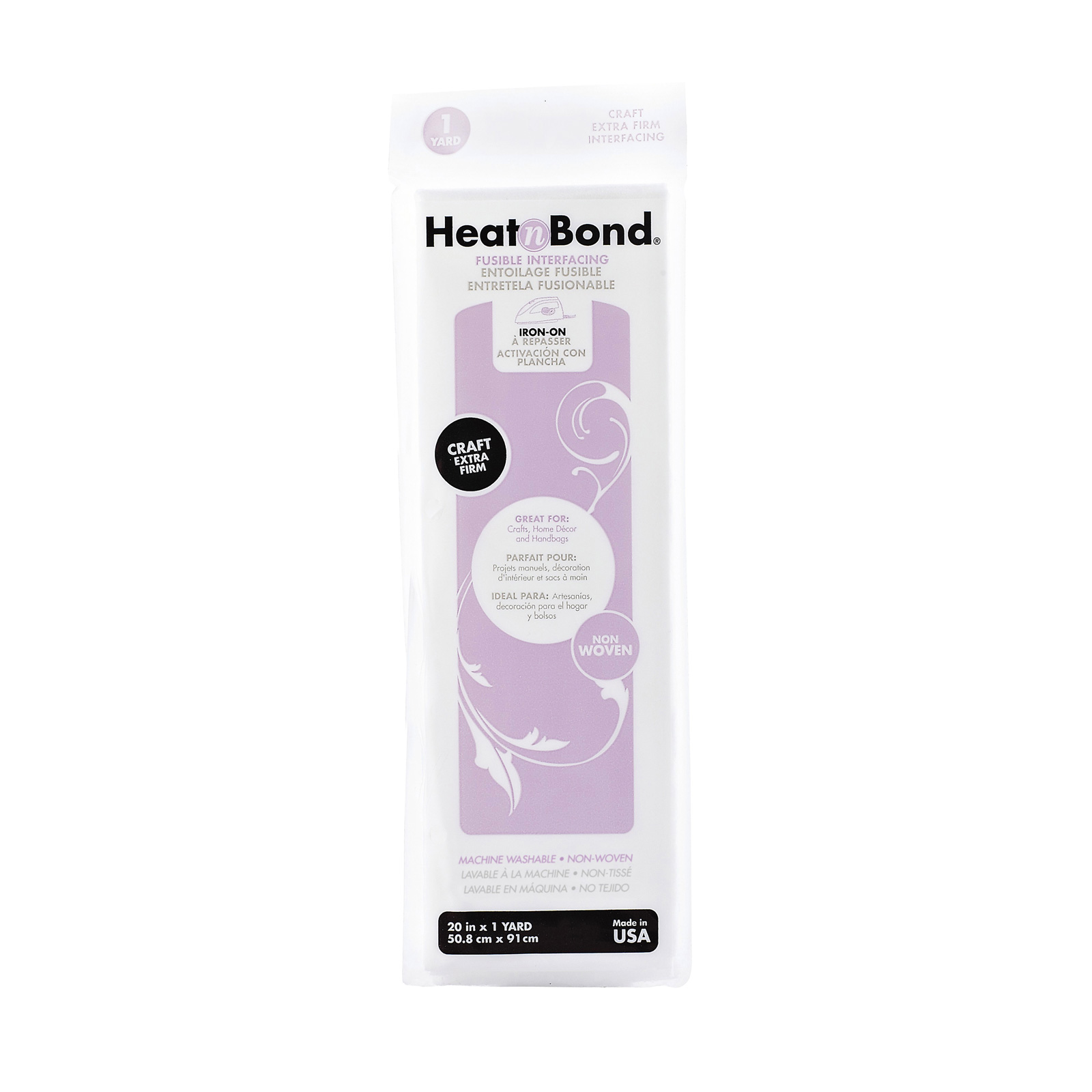 Heat'n Bond Non-Woven Craft Fusible - Extra Firm