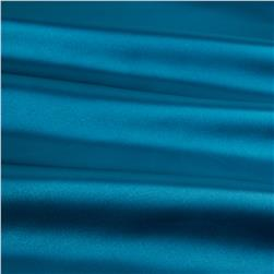 Slipper Satin Puchi Teal Fabric