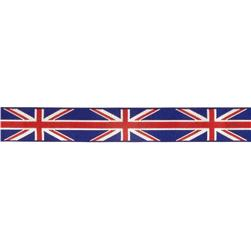 "7/8"" Raphael Kerley British Flag Ribbon Red/Blue"