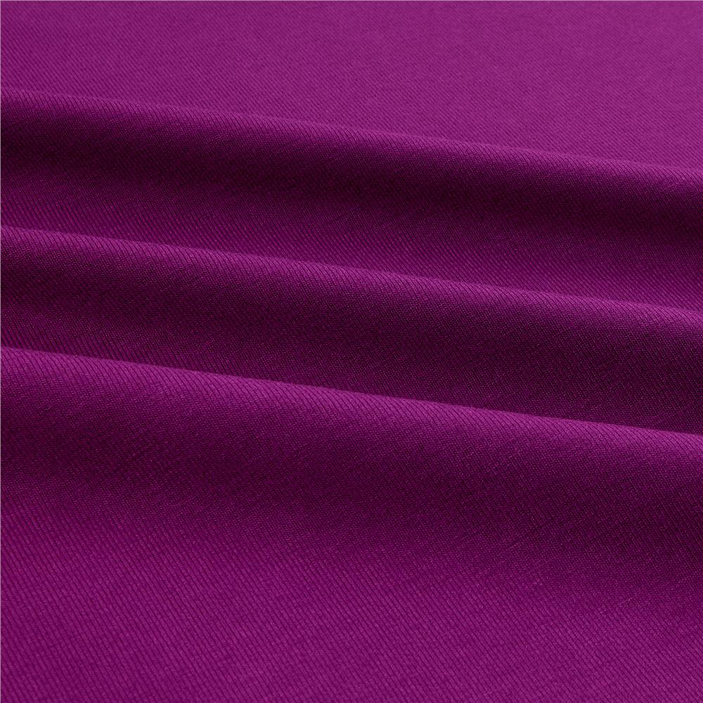 Telio Stretch Bamboo Rayon Jersey Knit Light Plum Fabric