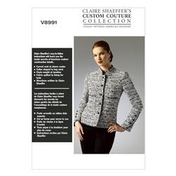 Vogue Misses'/Misses' Petite Jacket Pattern V8991 Size A50