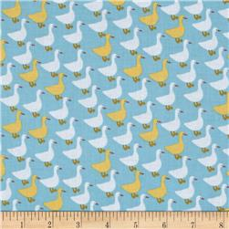 Kaufman Urban Zoology Minis Little Ducks Sky