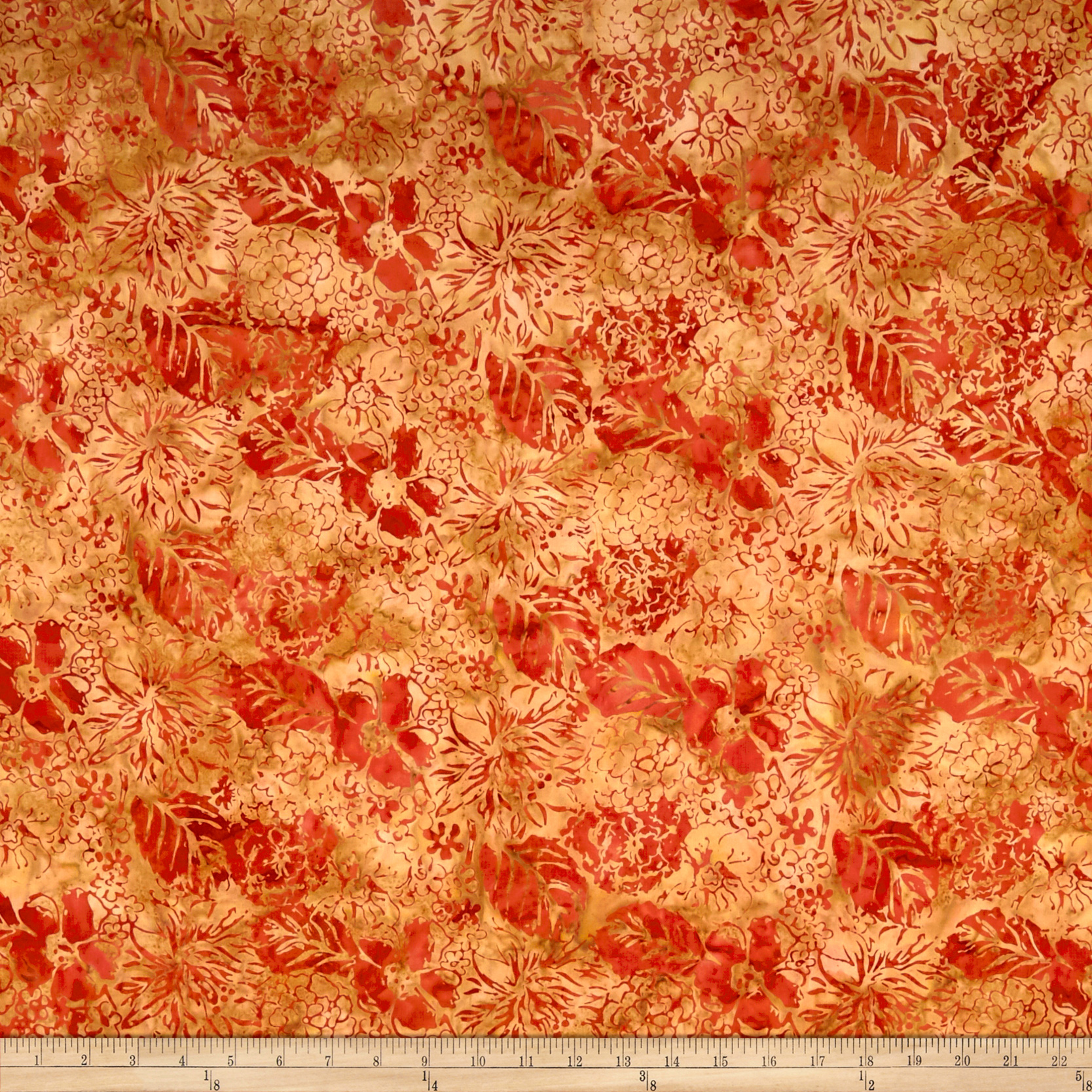 INOpets.com Anything for Pets Parents & Their Pets Anthology Batik Garden Fire Fabric