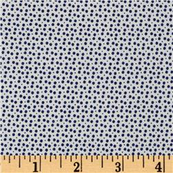 Moda Miss Kate Dot Navy Fabric