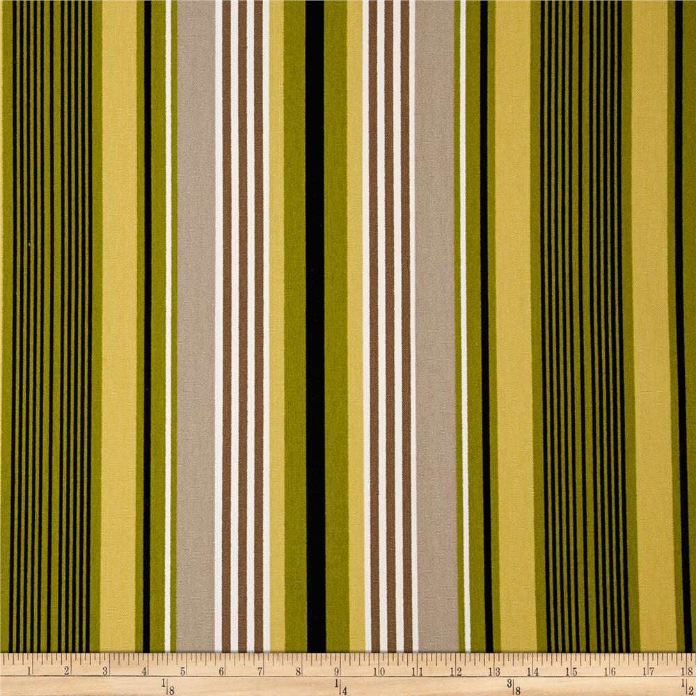 Microfibres Willa Stripe Lime