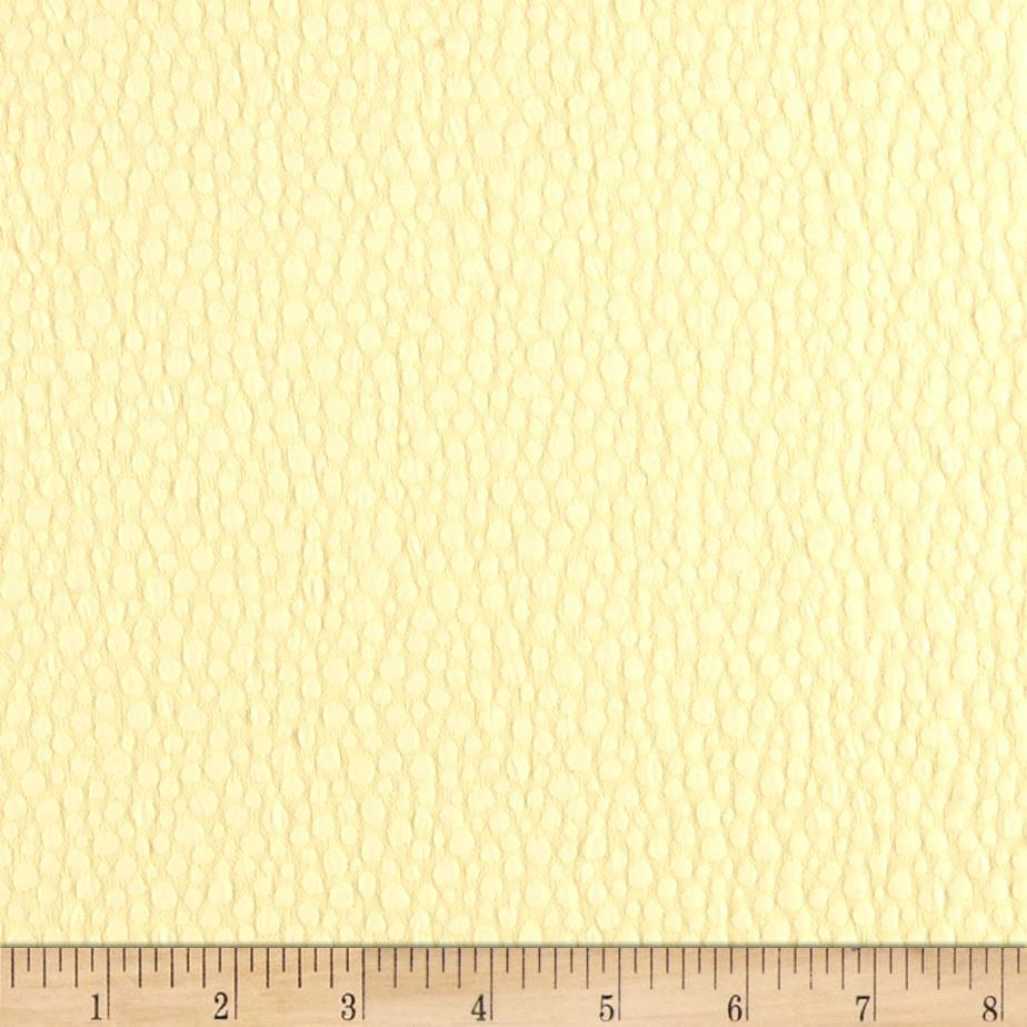 Pebble Jacquard Crepe Light Yellow