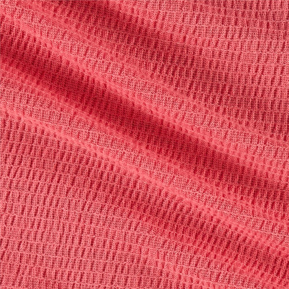 Crinkled Gauze New Coral