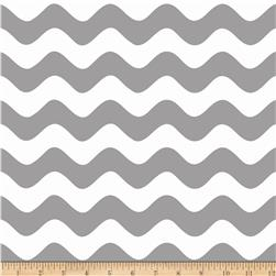 Riley Blake Wave Grey