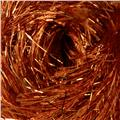 Martha Stewart Glitter Eyelash Yarn (533) Orange Topaz