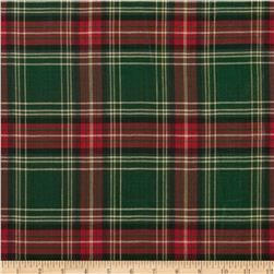 Holiday Blitz Large Plaid Green/Red Fabric