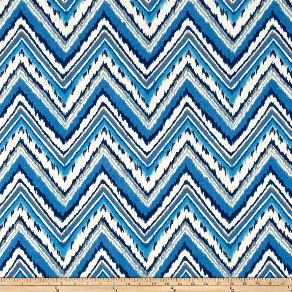 Waverly Dena Designs Chevron Charade Sapphire