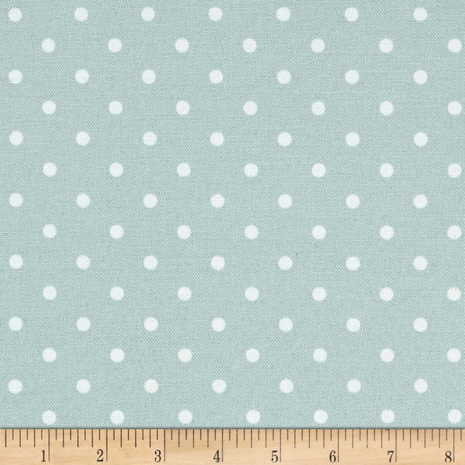 Premier Prints Indoor/Outdoor Mini Dot Blue Stone