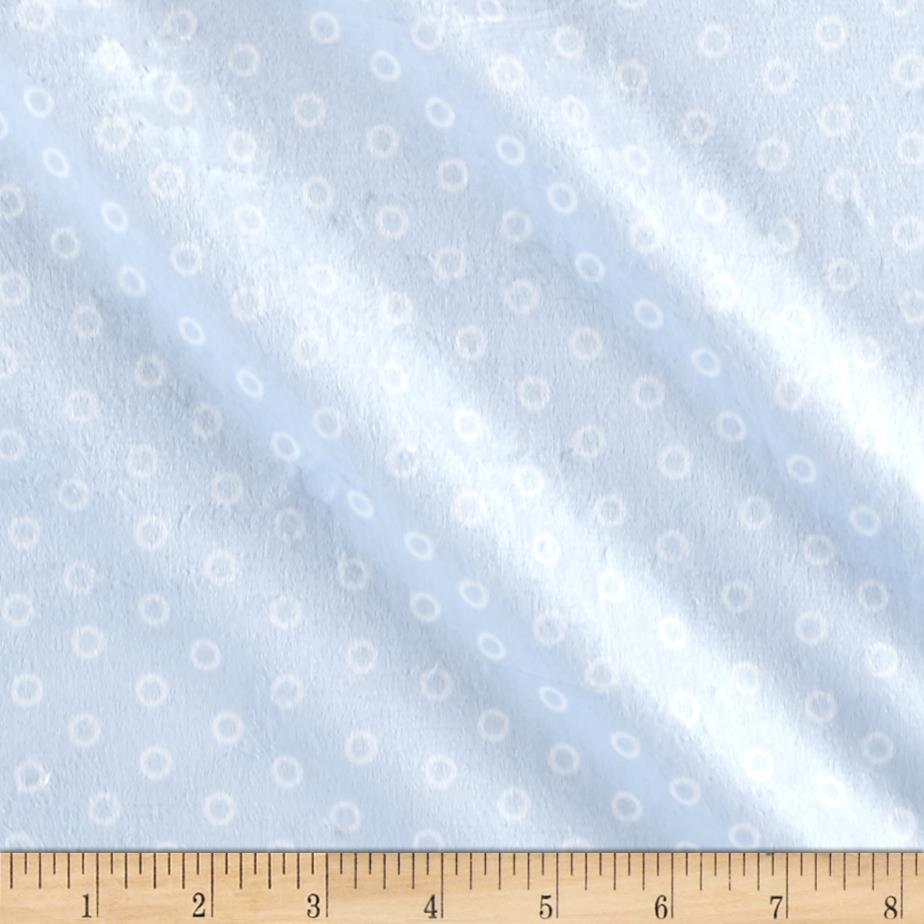 Minky Sail Away Bubbles Light Blue