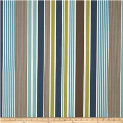 Tempo Indoor/Outdoor Stripe Navy/Brown