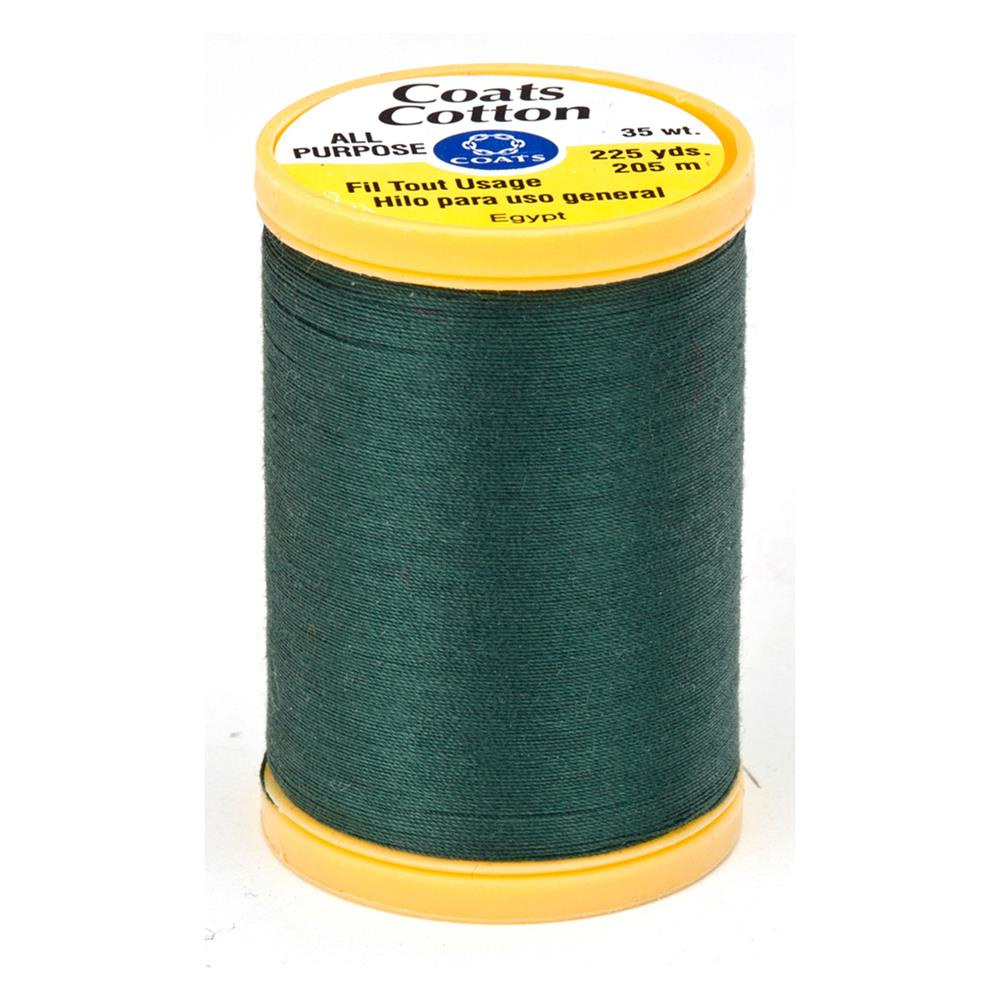 Coats & Clark General Purpose Cotton 225 yd. Forest Green