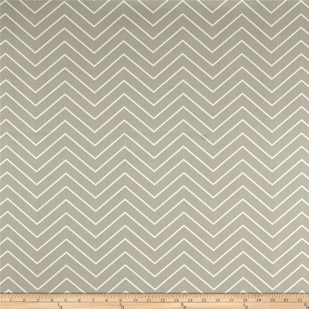 Premier Prints Chevron Gunmetal Tan