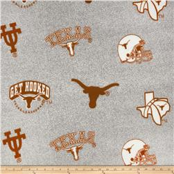 Collegiate Fleece University of Texas Heather Grey