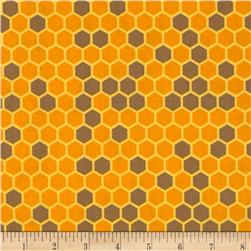 Bright & Buzzy Honeycomb Amber