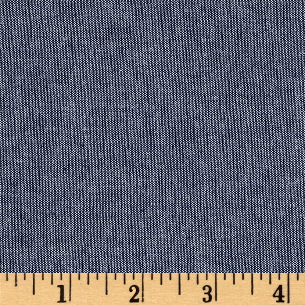 Stretch Chambray Indigo