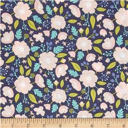 Meadow Wildflowers Dark Blue