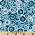 Jenean Morrison True Colors Buttons Teal