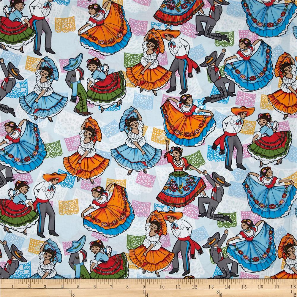 Mexican Folklore Folklore Ballet Blue/Multi