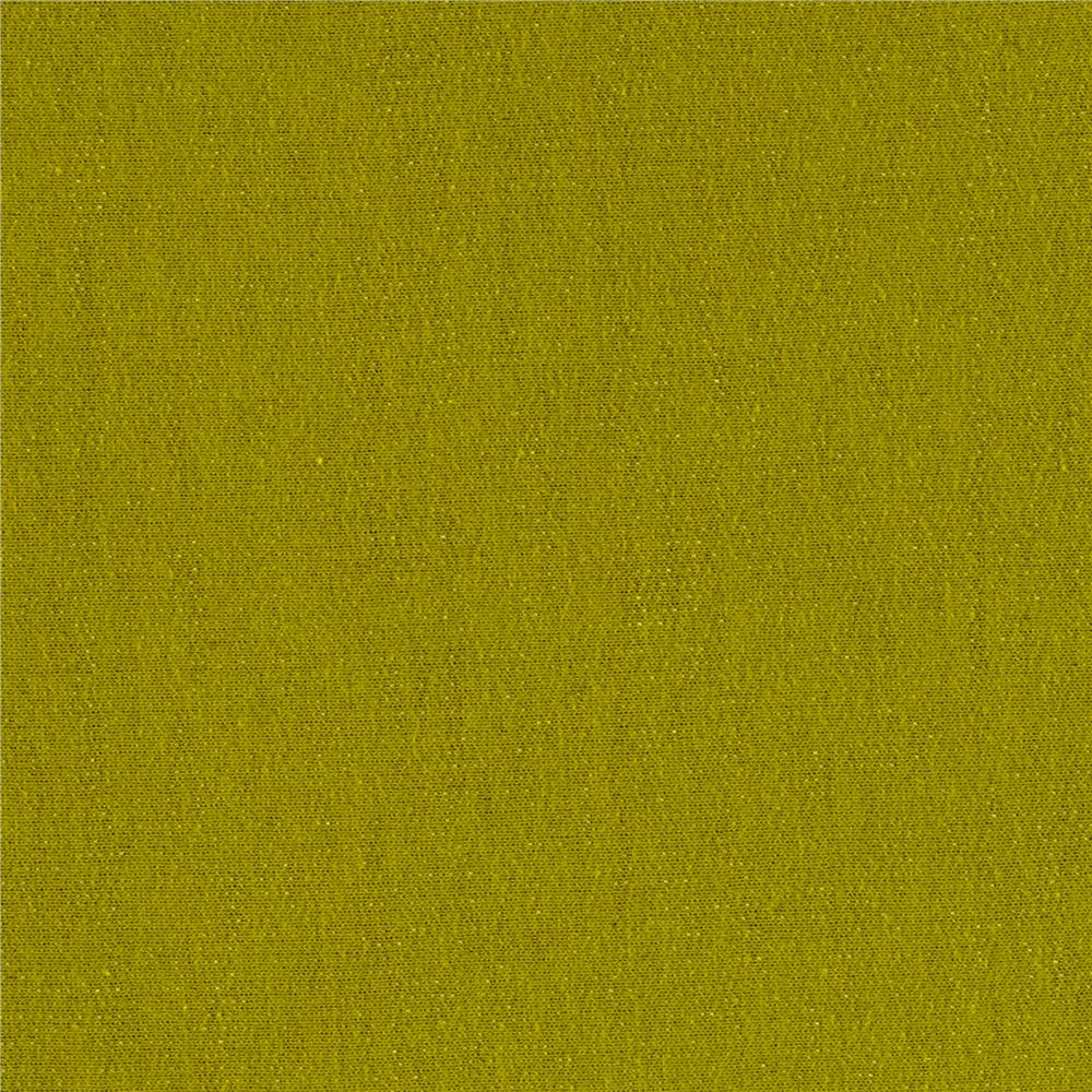 French Terry Solid Pear Green