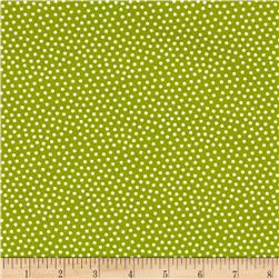 Reindeer Magic Dots Green