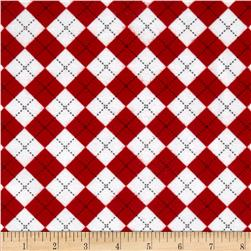 Remix Flannel Argyle Cherry
