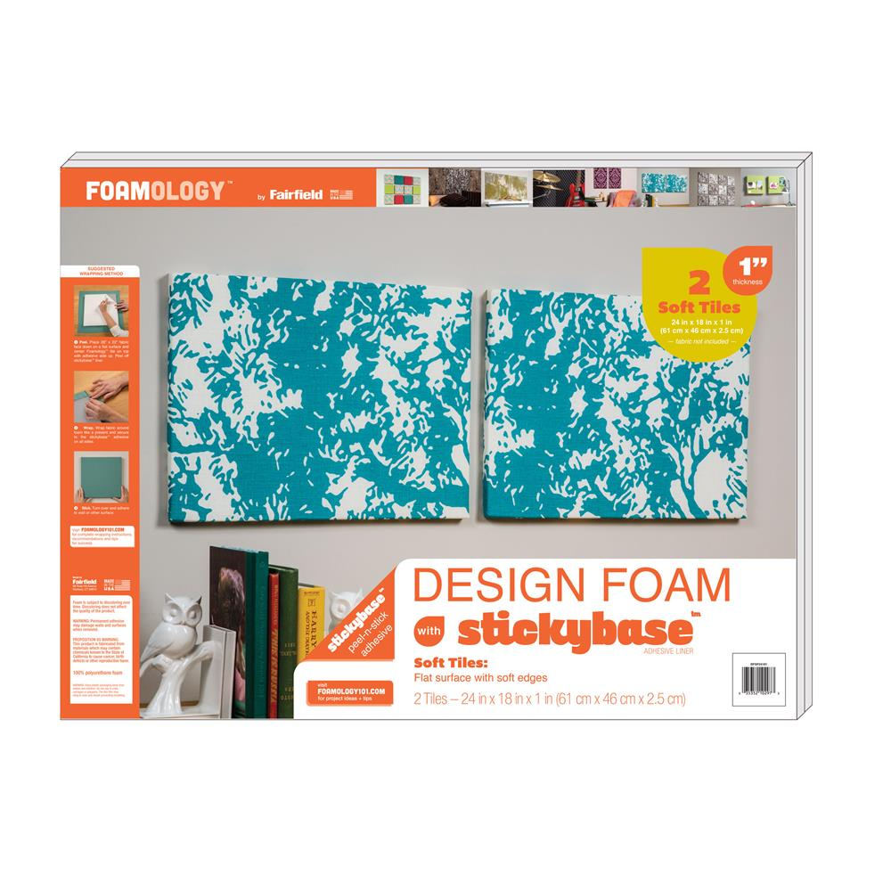"Foamology Two Piece Design Foam 24"" x 18"" x 1"""