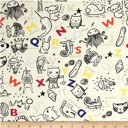 Dear Stella Wild Alphabet & Animals Cream