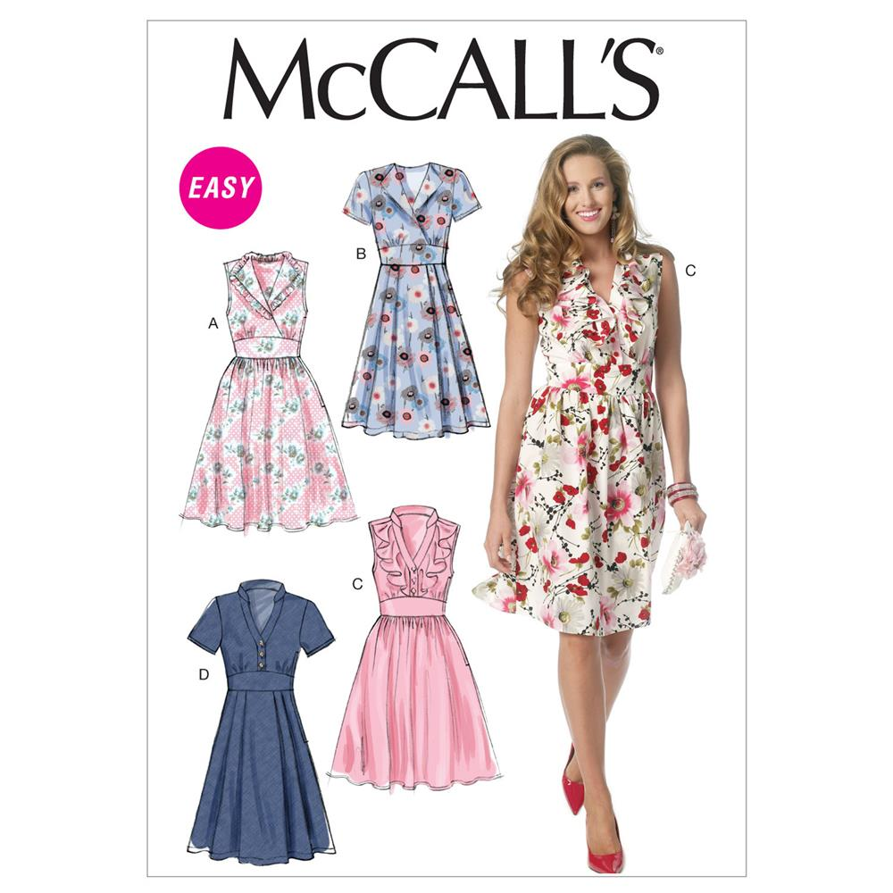 McCall's Misses' Dresses Pattern M6503 Size A50