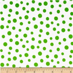 Daisy Mae Kisses Dot Mint Fabric