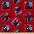Marvel Comics Spider-Man Ultimate Toss Patch Red