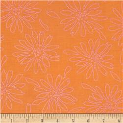 Pearl Essence Floral Orange