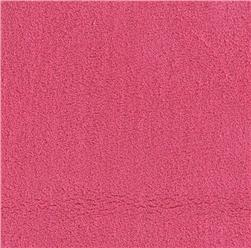 Double-Sided Minky Fleece Fuchsia
