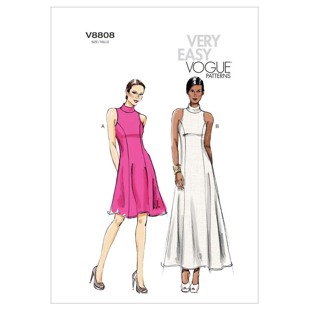 Vogue Misses'/Misses' Petite Dress Pattern V8808 Size A50