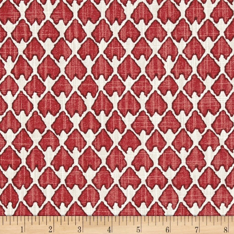 Lacefield Diego Salmon Fabric by Lacefield in USA
