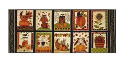 "Art By Bernie Give Thanks 17.5"" Panel Blocks Ivory"