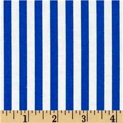 Basic Training Stripe Royal/White Fabric