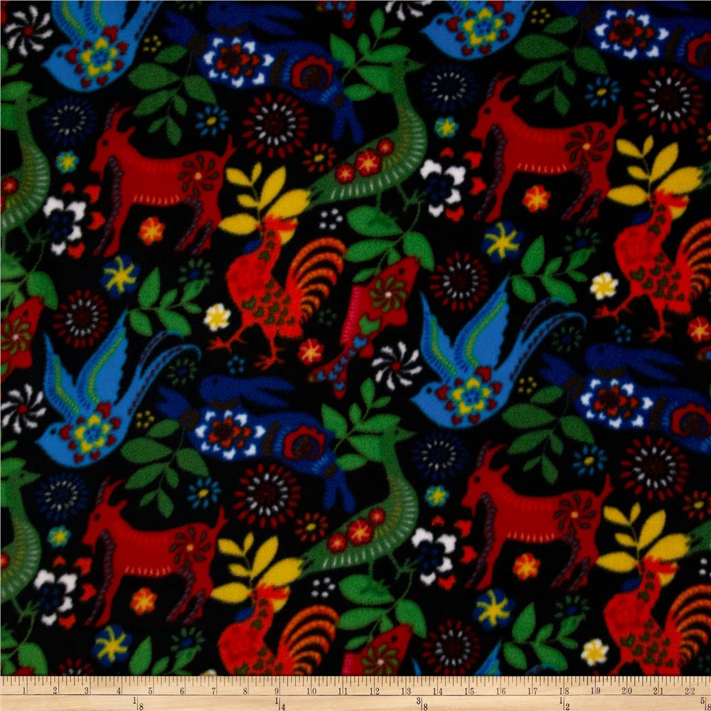 Celebration Fleece Latin Flare Black/Multi