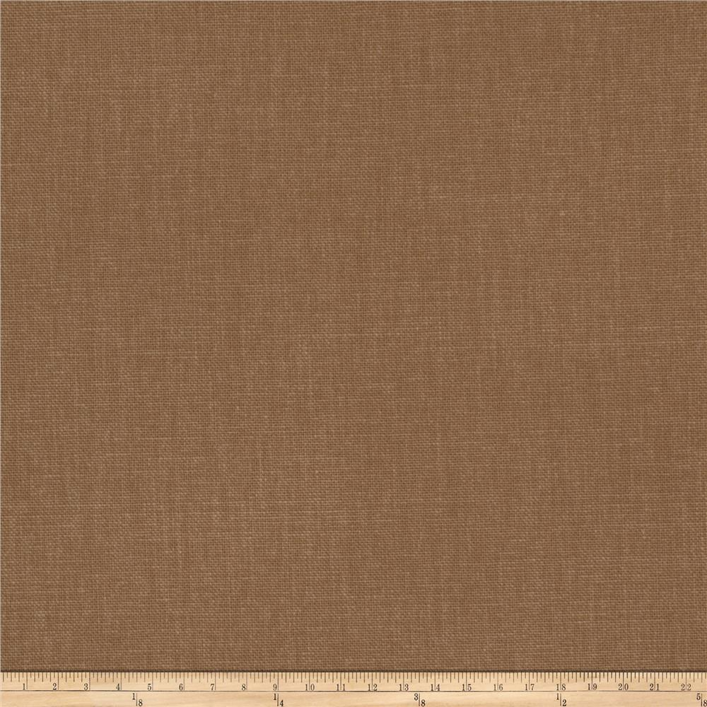 Fabricut principal brushed cotton canvas sepia discount for Cloth fabric
